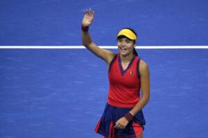 Emma Raducanu US Open semifinals