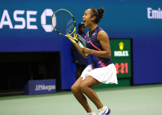 Leylah Fernandez US Open semifinal