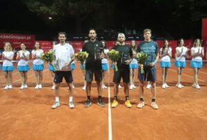 Szczecin Open champions Santiago Gonzales and Andres Molteni.