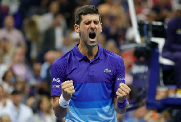 Novak Djokovic US Open semifinal