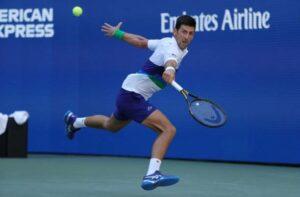 Novak Djokovic US Open 2021 R3