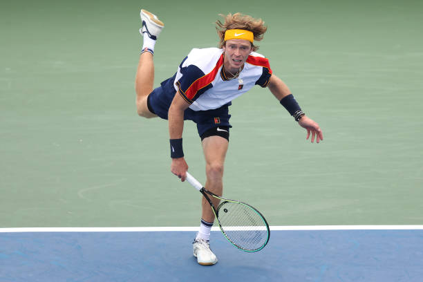 Andrey Rublev US Open 2021