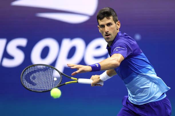 Novak Djokovic 2021 US Open Semifinal