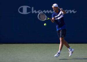 Richard Gasquet in action ahead of the ATP Antwerp Open.
