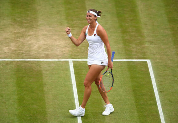 Yaroslava Shvedova Wimbledon