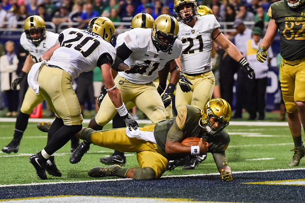 Notre Dame Runs Over Army