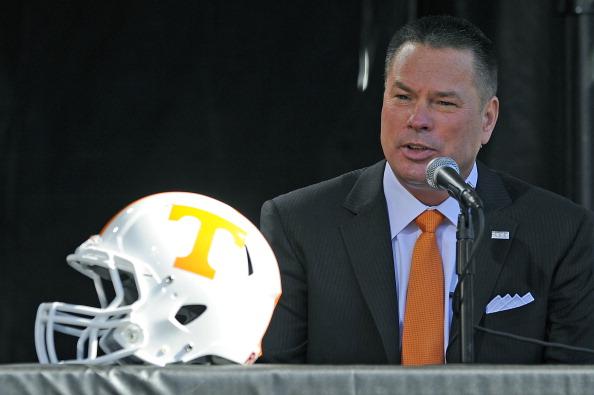 Butch Jones Recruiting