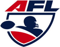 arena football league afl logo afl 30