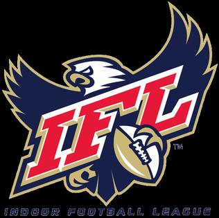 Indoor football league (IFL) Logo IFL holding on