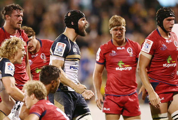 Super Rugby Rd 7 - Brumbies v Reds