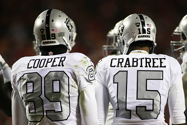 Michael Crabtree NFL Jersey