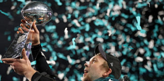 Nick Foles Philadelphia Eagles Super Bowl Champions
