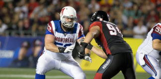 Alouettes Offensive Line