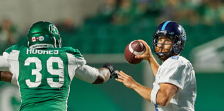 Saskatchewan Roughriders Bye Week