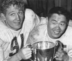 1954 Grey Cup Parker and Kwong