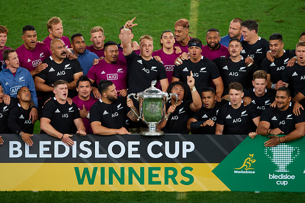 Bledisloe Cup secured after record Wallabies defeat 5-43
